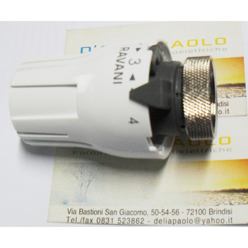 Testa testina termostatica radiatore ghisa alluminio for Testina termostatica