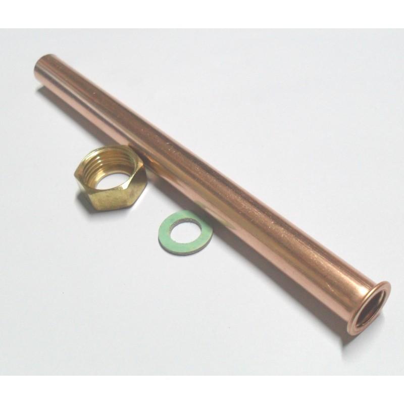 Kit tubi rame caldaia gruppo termico for Rubinetti per tubi di rame
