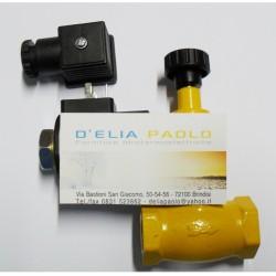 ELETTROVALVOLA GAS RIARMO MANUALE 1/2 N.A.
