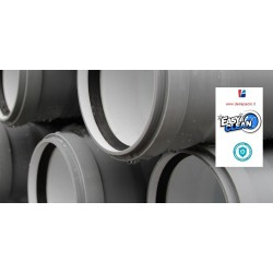 Tubo Innesto 50 X 50 Cm 2 Bicchieri