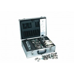 KIT FLEX INOX PLUS DA 3/8 - 1/2 - 3/4 - 1 - 11/4