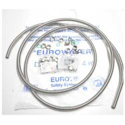 KIT EUROTIS ACQUA 4+4 MT TUBO E 10+10 RACC 1/2 3/4