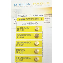 5 PZ KIT UGELLI METANO GAS DI CITTA