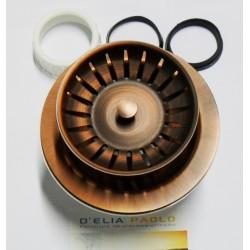 Piletta Lavello Stp Copper Rame Anticato