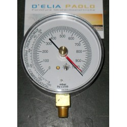 Vacuometro Attacco Radiale 0:1000 Mbar
