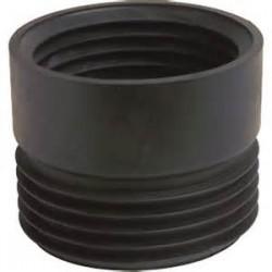 Guarnizione Sotto Wc Nera B Vaso 100-100 M Tubo