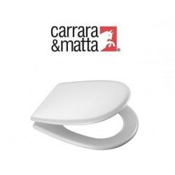 Sedile Aretusa Cesame Interasse Cm 19 Bianco
