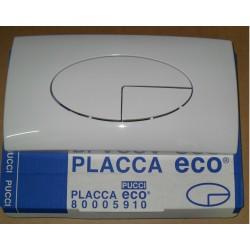 PLACCA E CONTROPLACCA 2 TASTI ECO