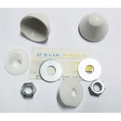 Kit Dadi Con Cappuccio Bianco Per Sospesi