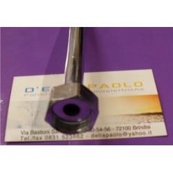 Tubo Cromato 300 Mm Con Dado 1/2 F