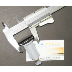 "Tappo Plastica Lavabo Bidet 1"" Diametro Mm 35"