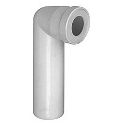 Manicotto Wc Bianco Curvo 100 - 100 Vaso