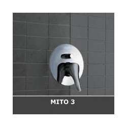 MISCELATORE CISAL MITO3 INCASSO VASCA - DOCCIA