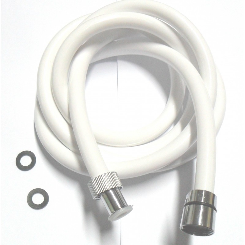 prezzi al dettaglio vari tipi di comprare a buon mercato flessibile doccia pvc bianco morbido