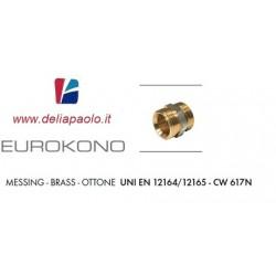 RACCORDO ATTACCO EUROKONO DA 3/4 X 1/2 MASCHIO