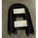 Tubo Alluminio Flessibile Nero Da 50 Mm